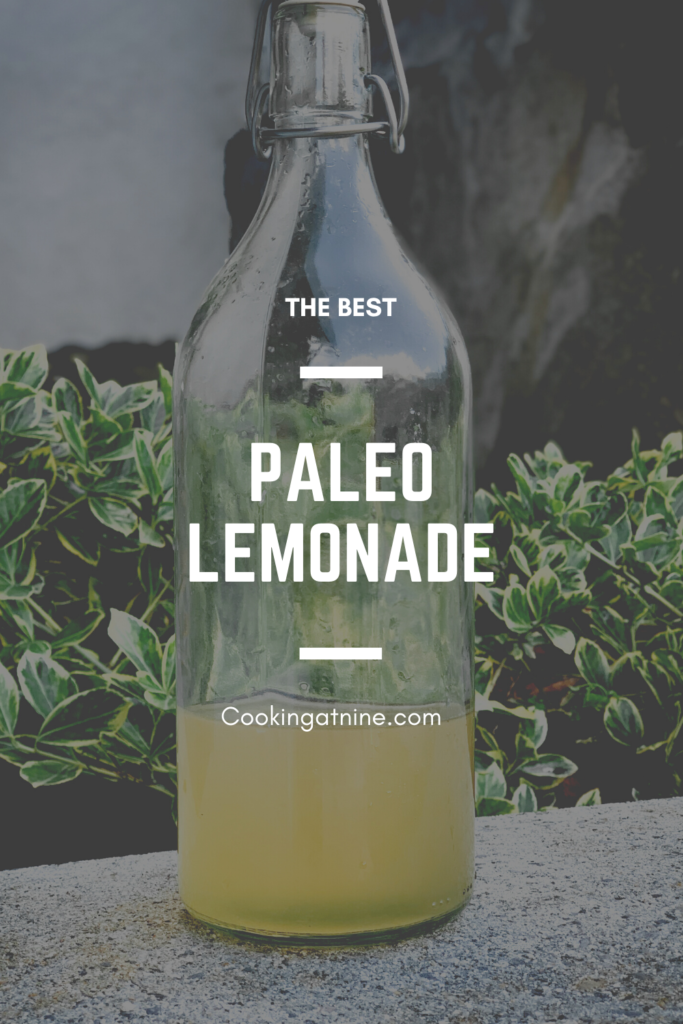 The Best Paleo Lemonade Pinterest Pin