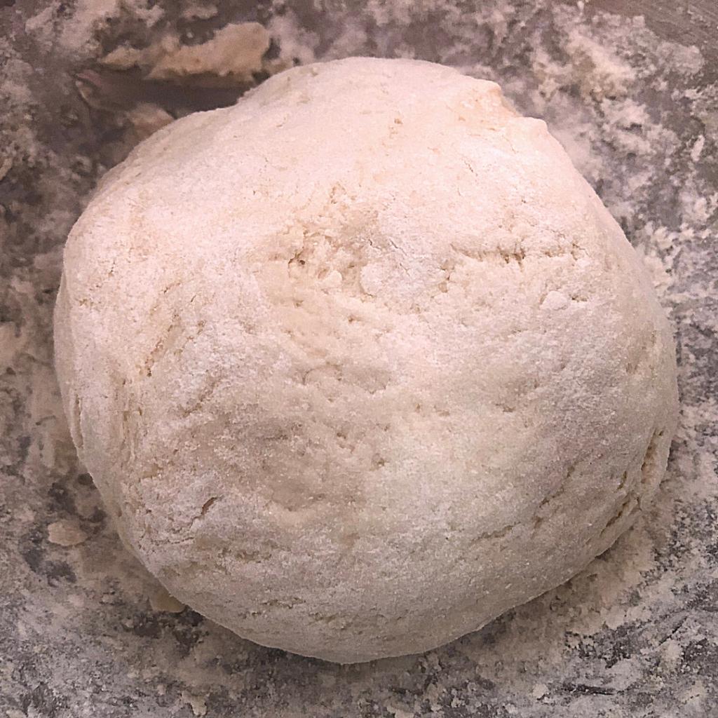 The Cinnamon And Sugar Soft Pretzel Dough In The Process Of Rising!