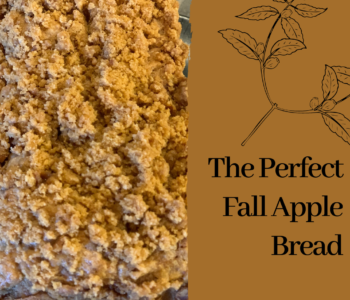 The Perfect Fall Apple Bread